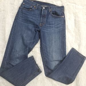 New 501 s skinny Levi's high waisted